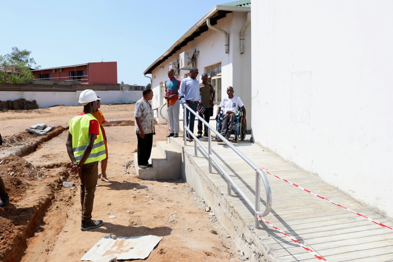 Aics Maputo - Some pictures of the Malhazine Training Centre, in the province of Maputo