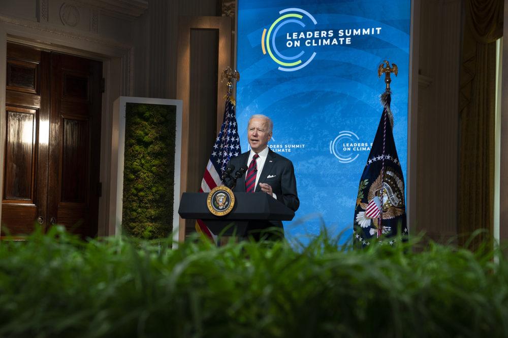 US President Joe Biden during the Summit
