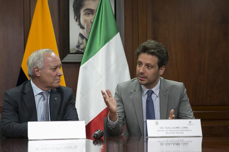 Ecuador - Firmato il nuovo accordo di conversione del debito Italia - Ecuador