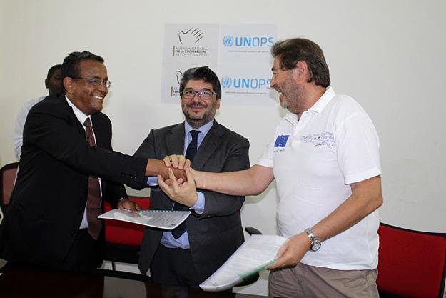 Sudan - Agenzia e UNOPS per migliorare le condizioni sanitarie e l'accesso all'acqua in Kassala
