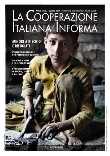 magazine n. 6/17 – Emergenza minori, l'inclusione minorile per prevenire le partenze