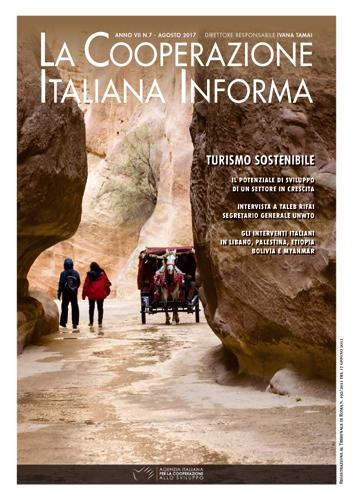 """magazine n. 7/17 – """"Travel, enjoy, respect. Un approccio responsabile sulle orme dell'Agenda 2030″"""