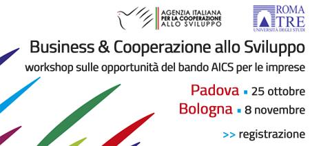 Business & Cooperazione, alla scoperta delle opportunità per le imprese