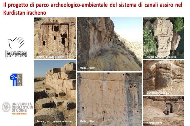 """Archeologi dell'Università di Udine sulle tracce di Alessandro Magno, nell'ambito del """"Land of Nineveh Archaeological Project"""""""