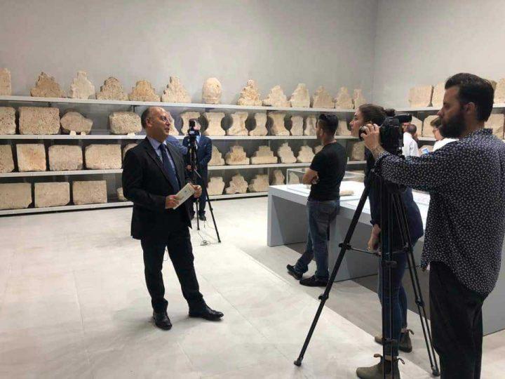 Iraq – Apertura di una nuova sala al museo di Slemani