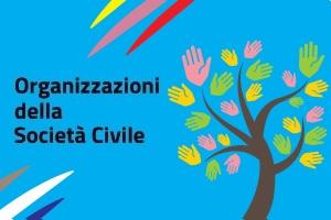 Logo sezione sito Aics di Organizzazioni della Società Civile
