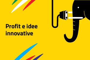 Logo sezione sito Aics di Profit e idee innovative