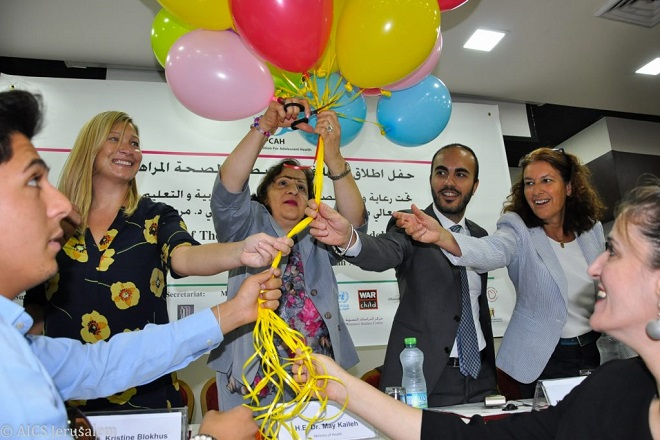 A new coalition for Palestinian adolescents thanks to the Italian project in partnership with UNFPA