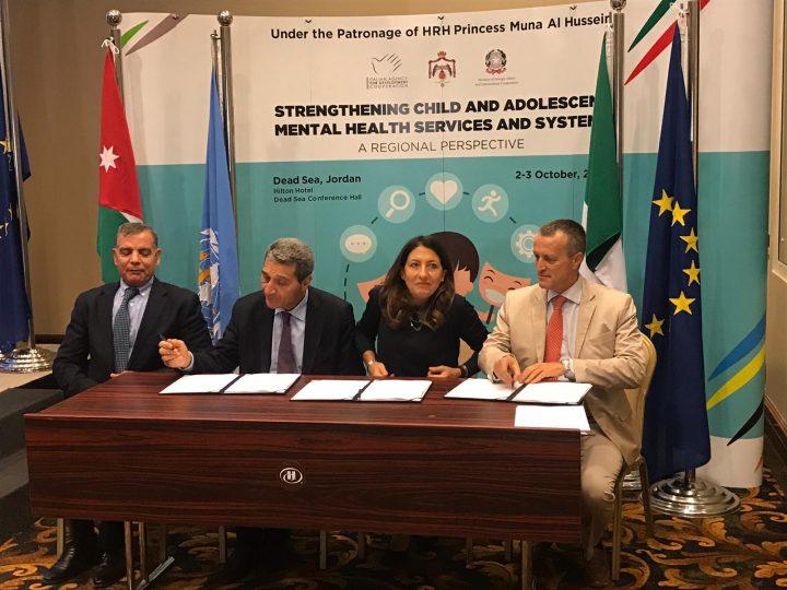 Giordania – Conferenza regionale sulla salute mentale, 2-3 ottobre