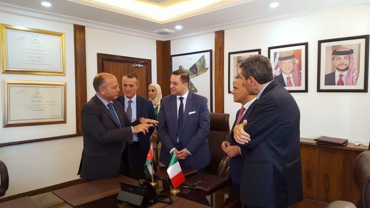 """Amman 3 ottobre – firma dell'accordo per il """"Sector Budget Support"""""""