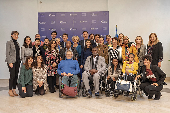 """Roma, 14 novembre – """"Bridging the Gap – Inclusive policies and services for persons with disabilities"""""""