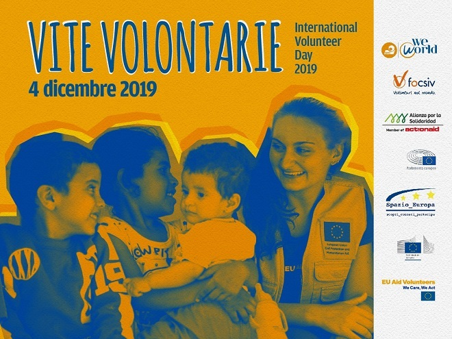Roma, 4 dicembre – International Volunteer Day 2019