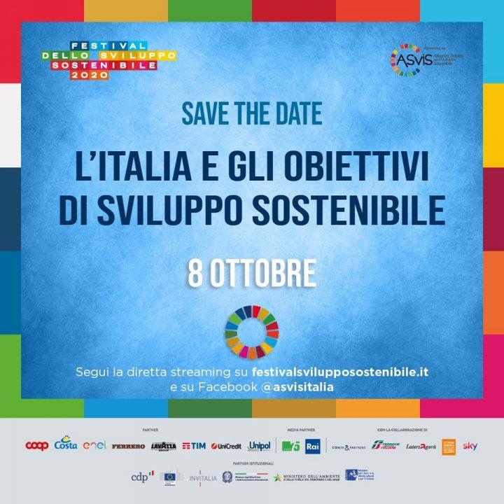 """Evento di chiusura del Festival:  """"L'Italia e gli Obiettivi di sviluppo sostenibile"""""""