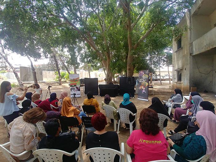 8 Marzo - Giornata internazionale della donna - Le donne del progetto GEMAISA, sostenuto dall'Agenzia italiana per la cooperazione allo sviluppo, nei paesi dell'Africa del Nord e Medio Oriente