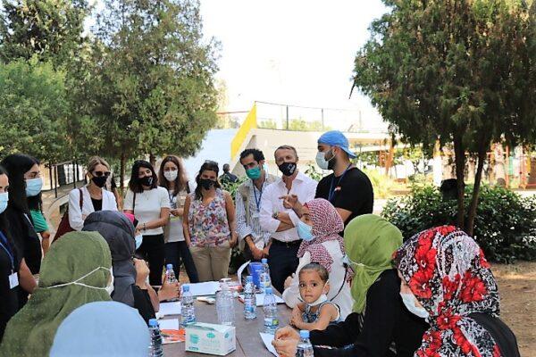 Il direttore Luca MAestripiri in visita in Libano. Incontra il personale delle Organizzazioni della Società civile che operano in Libano